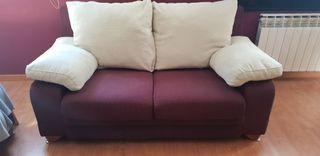 sofá doble 2 piezas