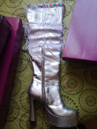 botas altas de drag queen numero 43