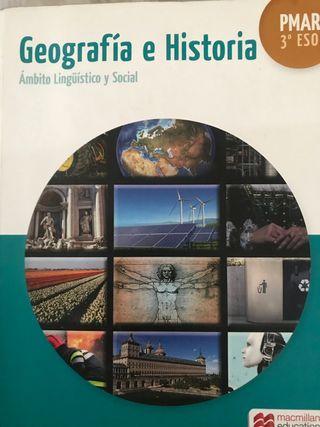 Libro geografía e historia 3 eso PMAR
