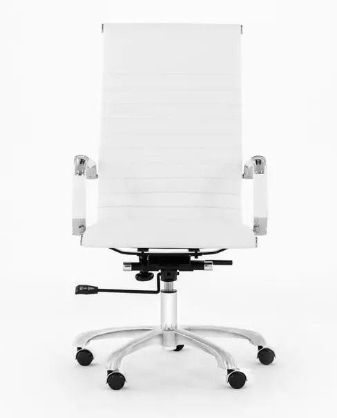 Silla de oficina blanca de segunda mano por 60 € en Madrid en WALLAPOP