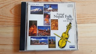 cd TYPICAL NEPALI FOLK MUSIC