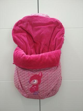 Mini saco (grupo 0/ maxi cosi) invierno Tuc Tuc