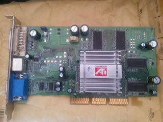 Tarjeta gráfica ATI 128 mb