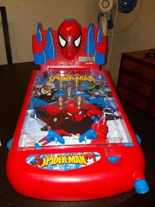 Pinball de Spiderman