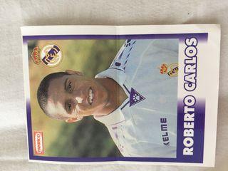 Cromo Roberto Carlos