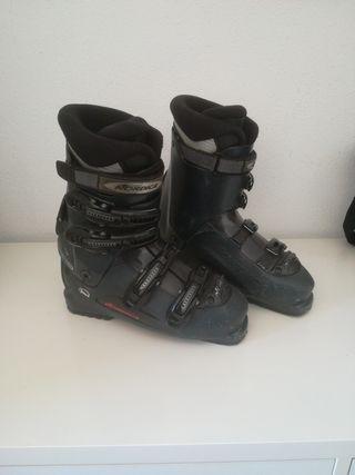 bota esqui nórdica