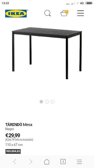 Mesa comedor Ikea de segunda mano en la provincia de Málaga en WALLAPOP