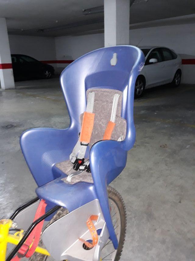 Silla portabebé para bicicletas