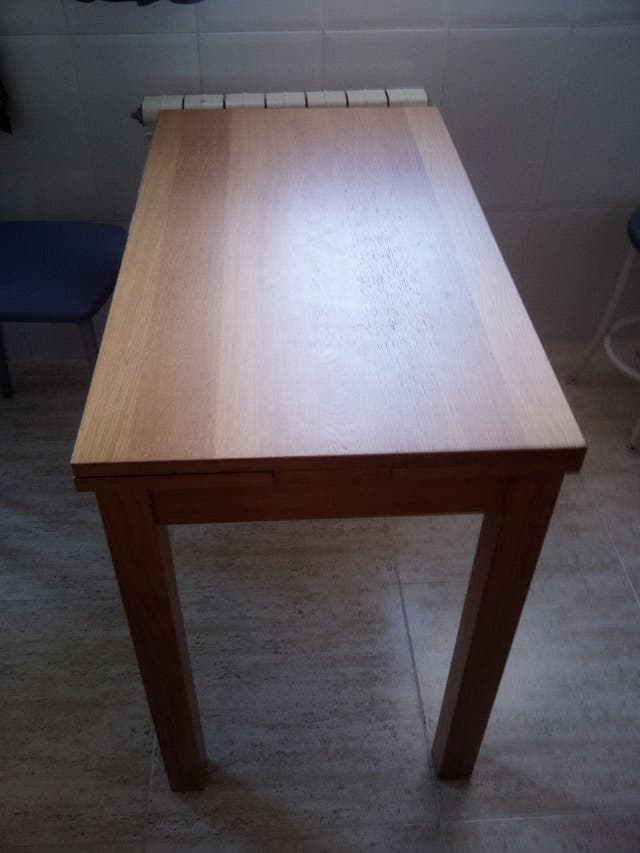 Mesa cocina ikea extensible de segunda mano por 45 € en Zaragoza en ...