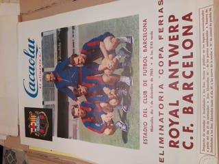 Cartel poster fútbol