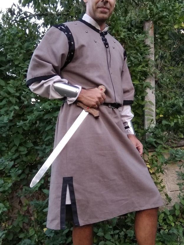 Traje Medieval de guerrero