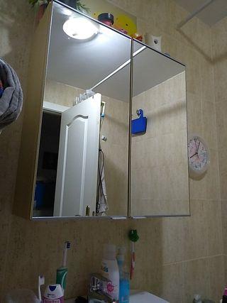 mueble espejo baño