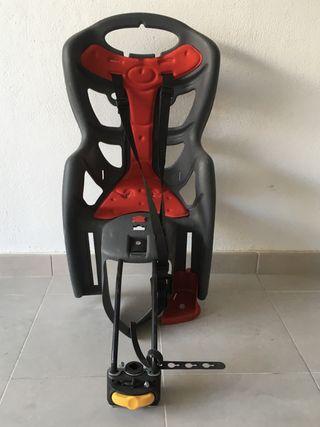 Silla bicicleta porta bebés