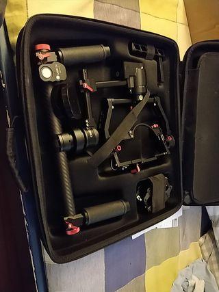 Gimbal electronico compacto para reflex - CameTV