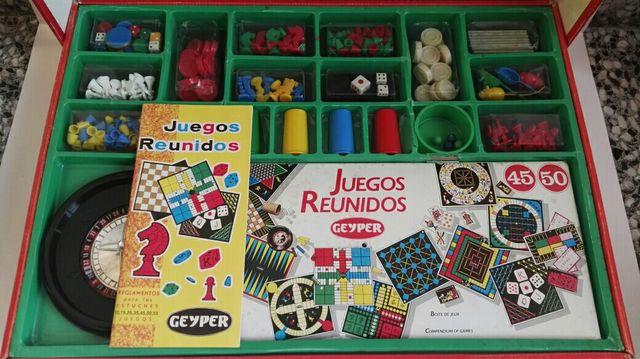 Juegos Reunidos Geyper 45 Juego De Mesa Coleccion De Segunda Mano