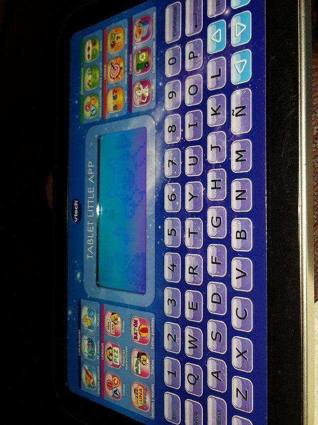 tablet para niños little app de vtech