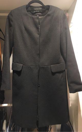 Abrigo negro El corte Ingles