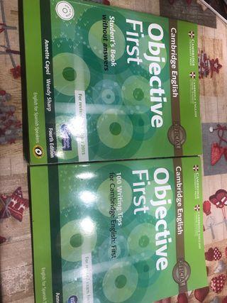 Libro Objective First Cambridge English