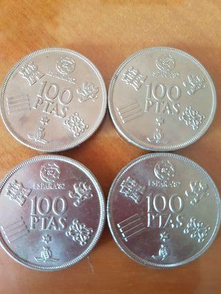 monedas 100 pesetas