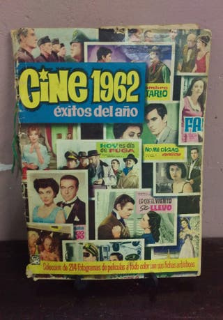 Álbum cine 1962 completo