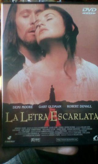 DVD La letra escarlata