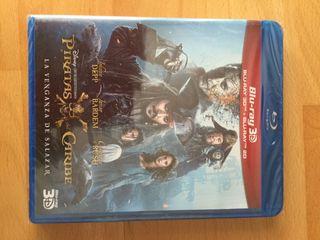 Blu-Ray piratas del caribe 5 precintada