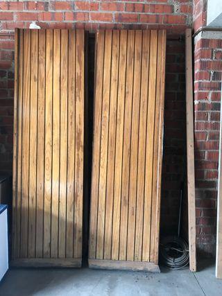 Puertas de garaje de segunda mano en wallapop - Puertas de garaje precios segunda mano ...