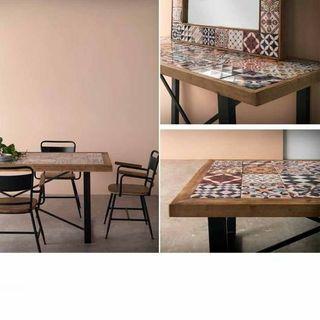 Mesa rectangular cheer azulejos nueva