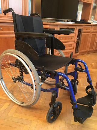 Sillas de ruedas invacare de segunda mano en wallapop for Silla de ruedas de segunda