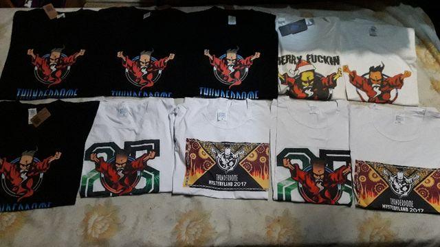 Camisetas Thunderdome Varias