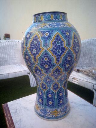 jarron ceramica artesanal marroqui
