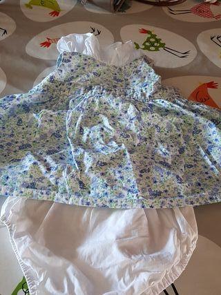 vestido bebe 6 meses
