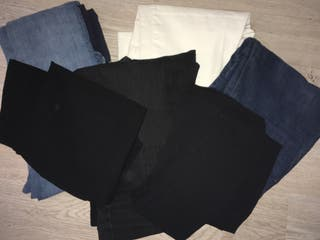 Medias Camisón En Mano Pantalones Segunda Leggins Premamá De 4P47Z