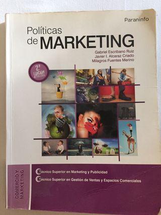 Libro Politicas de Marketing (Grado superior)