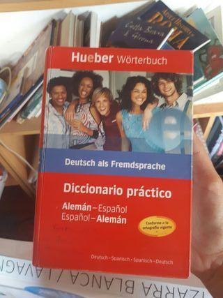 diccionario hueber de alemán