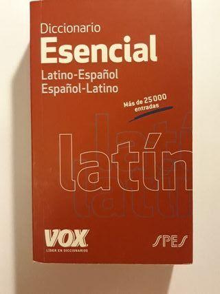 Diccionario latin-español VOX