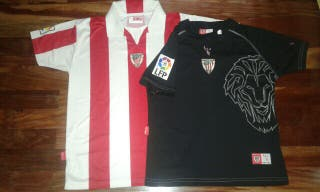 camiseta talla 14-12 ATHLETIC futbol