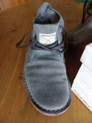 Por 35 Mano Calvin Segunda Klein De Zapatos Jeans aq8Yp6
