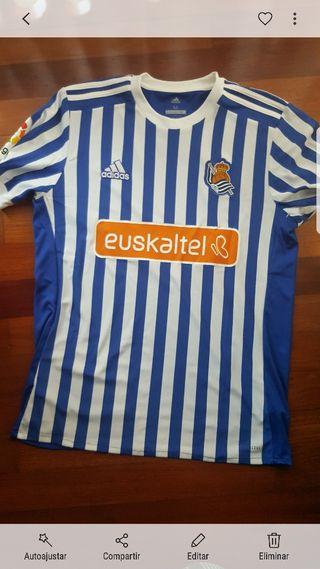 camiseta oficial Real Sociedad