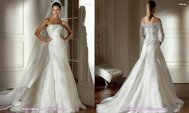 vestido de novia de segunda mano por 400 € en vilanova i la geltrú