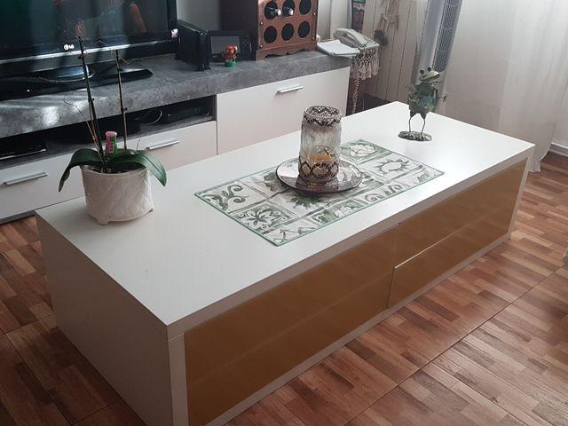 Mesa centro comedor diseño italiano de segunda mano por 80 € en ...