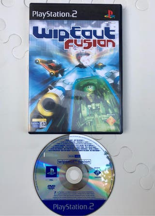 Juego Ps2 Wipeout Fusion