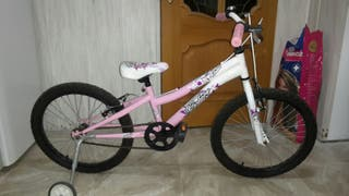 Bicicleta niña. seminueva