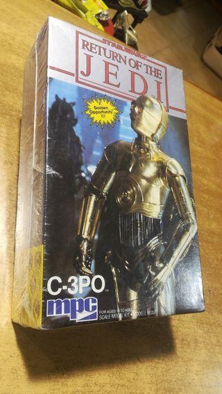 Star Wars return of the Jedi c 3po mpc
