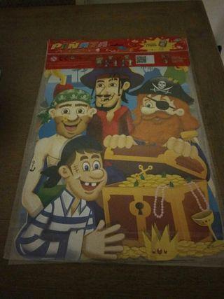 Piñatas de piratas