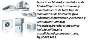 -Servicio Tecnico Maquinaria Hosteleria-Frigorista
