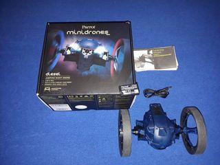 minidrone jumping Night drone