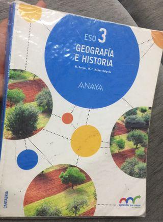 Geografía e historia 3 eso (edición cantabria)