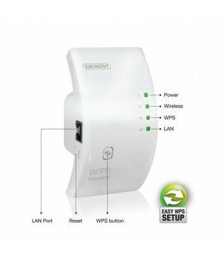 Repetidor Wi-Fi EM4590 de Eminent con WPS