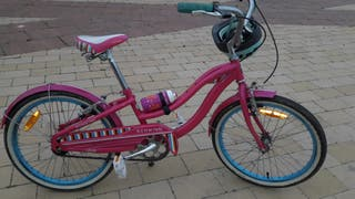 "Bicicleta paseo Schwinn Fiesta vintage niña 20"""